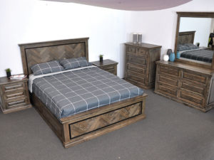 mosaic bed suite